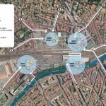 <b>Top départ des travaux pour créer le nouveau dépose-minute de la gare Matabiau, à Toulouse</b>