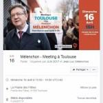 <b>Présidentielle 2017. Mélenchon tiendra bien un meeting à la prairie des Filtres, à Toulouse</b>