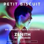 <b>Petit Biscuit, au Zénith de Toulouse le 20 novembre 2017</b>