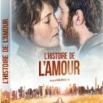 <b>Concours – Gagnez le DVD «L'histoire de l'amour»</b>