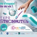<b>Vis ma vie... d&#039;astronaute ! Une aventure à vivre à la @CiteEspace #Toulouse :  http://bit.ly/2...</b>