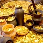 <b>Pâques : au village gaulois, cherchez les pièces en chocolat du trésor des guerriers !  http://bit.l...</b>