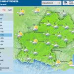 <b>Météo. De la pluie, du vent et quelques éclaircies pour le week-end, à Toulouse</b>