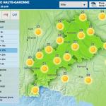 <b>Météo. Un temps chaud et radieux, tout le week-end, à Toulouse</b>