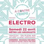 <b>Rendez vous pour la première édition du festival A Contretemps !</b>