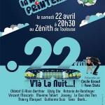 <b>La Nuit du Printemps, le 22 avril au Zénith de Toulouse !</b>