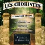 <b>L'équipe du spectacle musical Les Choristes, ce mercredi à la Fnac Toulouse</b>