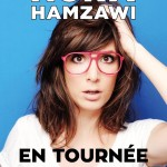 <b>L'humoriste Nora Hamzawi en février 2018 au Bascala</b>
