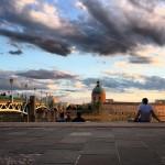 <b>@Toulouse la beauté magique des bords de garonne #coucherdesoleil #sérénité #pause @VisitezToulousep...</b>