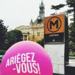 <b>Live : Ariègez-vous devant le Donjon de l&#039;office de tourisme ! #Toulouse #visiteztoulousepic.tw...</b>