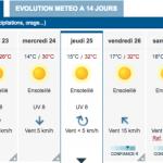 <b>Météo. Une vague de chaleur annoncée pour le Pont de l'Ascension, à Toulouse</b>