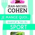 """<b>Gagnez le livre """"Je mange quoi quand je fais du sport""""</b>"""