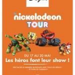 <b>Le Nickelodeon Tour, cette semaine à Blagnac</b>