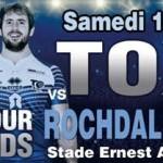 <b>Toulouse Olympique XIII v Rochdale Hornets le 10 juin à Blagnac</b>