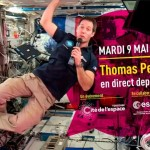 <b>Thomas Pesquet en direct de l'ISS à la Cité de l'Espace</b>