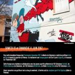 <b>Ce week-end : les promenades dessinées ! Azek et Stus graffent en live à Colomiers :  http://bit.ly/...</b>