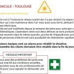 <b>#Canicule @Toulouse :incident réseau en cours quartier Hippodrome. Les équipes @enedis sont sur le t...</b>