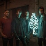 <b>Le groupe All Time Low en concert en octobre 2017</b>