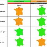 <b>Toulouse. Les prévisions de circulation sur les routes de la région pour le week-end de Pentecôte</b>