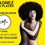 <b>L'AVENTURE MALIENNE DE -M- + Guests  24/06/17 Zénith de Toulouse Gagnez vos places</b>