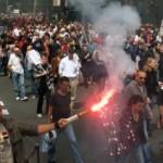 <b>Les syndicats dans la rue contre la loi Travail</b>