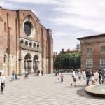 <b>[L&#039;image] Les premiers pavés de la future place Saint-Sernin ont été posés à Toulouse</b>