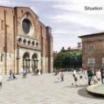 <b>Les premiers pavés de Saint-Sernin sont dans la place</b>