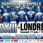 <b>Toulouse Olympique XIII v Londres : Une journée animée au stade Ernest Argelès de Blagnac</b>
