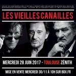 <b>Les Vieilles Canailles: Dutronc, Hallyday et Mitchell en concert à Toulouse ce mercredi !</b>