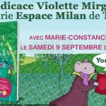 <b>Rencontre dédicace Violette Mirgue</b>