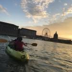 <b>Insolite : kayak sur Garonne</b>