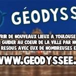 <b>Géodyssée, une appli pour découvrir #Toulouse en s'amusant :  http://bit.ly/2uIMxjl #visiteztoulous...</b>