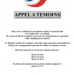 <b>Suite #accident de la circulation à #Toulouse la Brigade #Accidents lance un appel à témoins Merci d...</b>