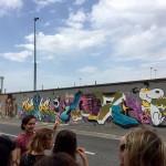 <b>Live : le Graff tour, avec guide et graffeur ! #visiteztoulouse #Toulousepic.twitter.com/H3JcEhpdLn</b>