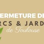 <b>Fermeture des jardins #Toulouse mercredi 30 août à 14h, en raison d&#039;une alerte météo pour vents...</b>