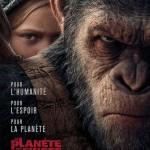 <b>Sortie Cinéma : La Planète des Singes Suprématie, Cars 3, Les filles d'Avril, Pire Soirée, Chouquett...</b>