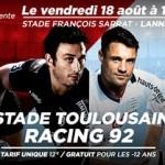 <b>Pré-saison : Le Stade Toulousain à Lannemezan face au Racing 92</b>