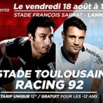 <b>Pré-saison: Le Stade Toulousain s'impose face au Racing 92</b>