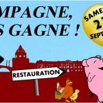 <b>La campagne, ça vous gagne ! Demain, mini-ferme, marché de produits locaux, restauration au coeur de...</b>