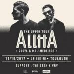 <b>Alltta en concert à Toulouse cet automne</b>