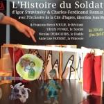 <b>L'Histoire du Soldat de Ramuz et Stravinsky ce vendredi à l'Espace Roguet</b>