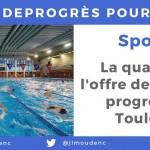<b>#3AnsDeProgrès pour vous : la qualité de l&#039;offre de natation progresse à #Toulousepic.twitter.c...</b>