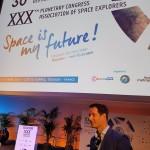 <b>Coucou @Thom_astro ! Congrès des astronautes #ASE30, @CiteEspace ! #Toulouse #visiteztoulousepic.twi...</b>