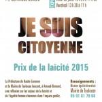 <b>#laïcité au quotidien : #exposition jusqu&#039;au 10/11 à #ArnaudBernard #Toulouse #égalitéFH #respe...</b>