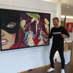<b>Ixiart Gallery : Une galerie d'art qui a du peps !</b>