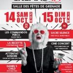 <b>La 15ème édition du FESTIVAL GRENAD'IN ce weekend !</b>