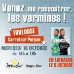 <b>Jeremstar en dédicaces à Carrefour Purpan Toulouse !</b>