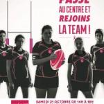 <b>L'Espace Saint Georges s'associe à l'équipe féminine de rugby du Stade Toulousain pour soutenir Octo...</b>