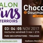 <b>Les Salons Vins &amp; Terroirs et du Chocolat, du 3 au 5 novembre à Toulouse !</b>