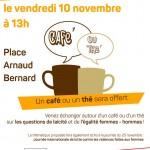 <b>Sur la place #ArnaudBernard à #Toulouse, venez échanger ce vendredi 10 nov. à 13h autour d'un café/t...</b>